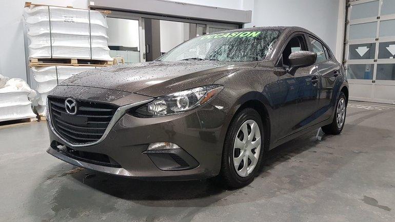 Mazda Mazda3 **RÉSERVÉ**,GX, A/C, CAMERA, BLUETOOTH, REGULATEUR 2016