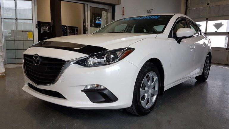 Mazda3 **RÉSERVÉ**,GX, BLUETOOTH, CAMÉRA, A/C, REGULATEUR 2016