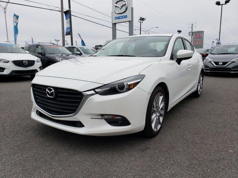 2018  Mazda3 GT//MANUEL//MOTEUR 2.5L//CAMÉRA DE RECUL