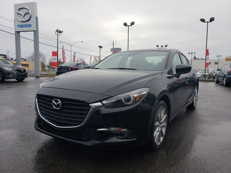 2018  Mazda3 GT MOTEUR 2.5/DÉTECTION D'ANGLE MORT