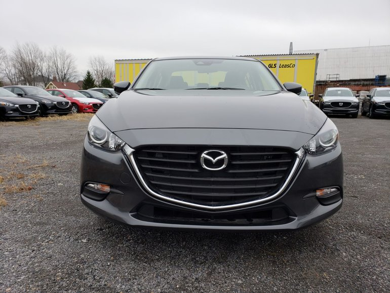 Mazda Mazda3 GS//MANUEL//DÉTECTION D'ANGLE MORT/CAMÉRA DE RECUL 2018