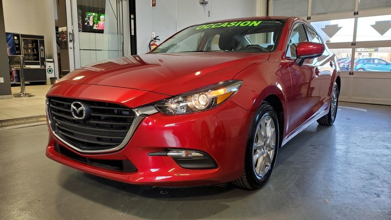 Mazda3 **RÉSERVÉ**, GS, NAVIGATION, BLUETOOTH CAMERA 2018