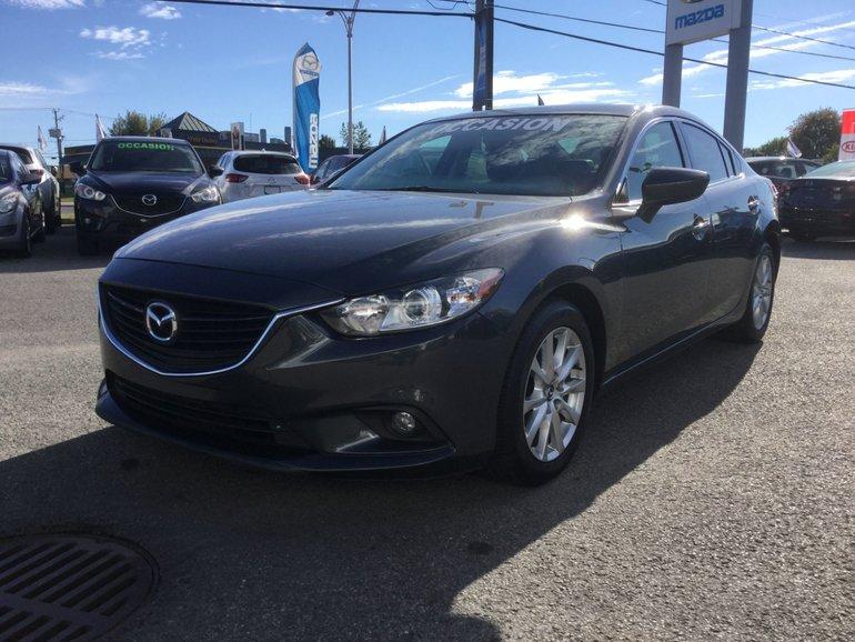 Mazda Mazda6 **RÉSERVÉ**,GS, NAVIGATION, CUIR, TOIT, A/C BIZONE 2014