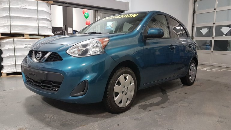Nissan Micra ***RÉSERVÉ***SV, DEMARREUR, BLUETOOTH, REGULATEUR 2015
