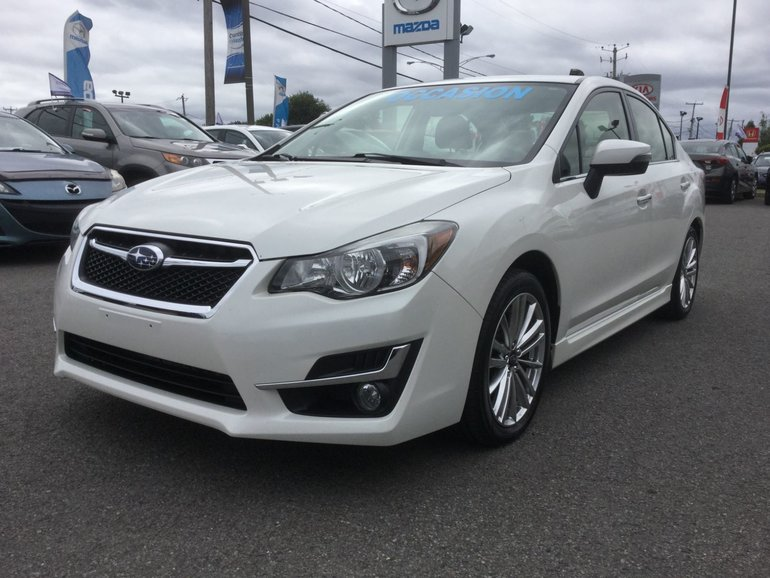 Subaru Impreza **RESERVE**SPORT LIMITED TECH PKG, NAVIGATION 2015