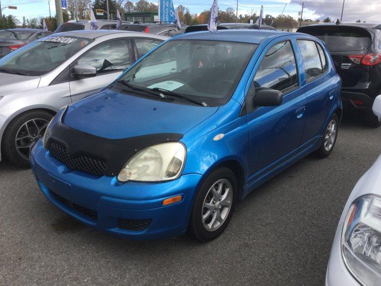 Toyota Echo **RÉSERVÉ**, LE, RS, MAGS,ESSUI-GLACE INTERMITENT 2005