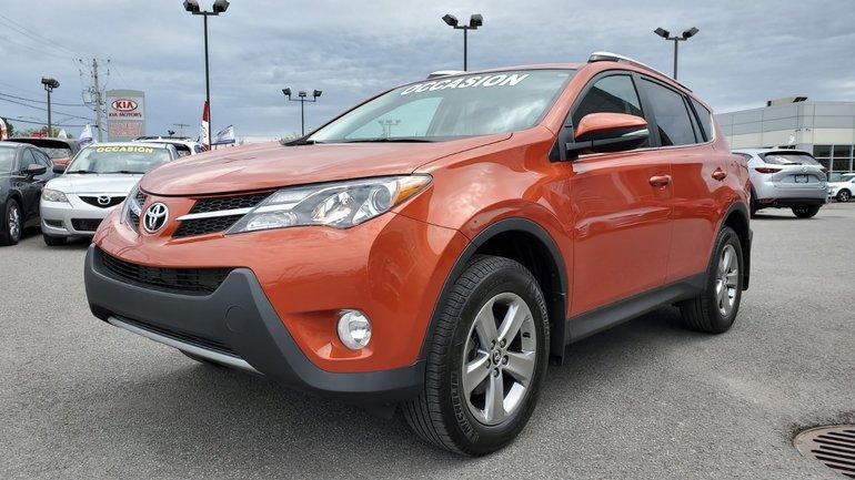 Toyota RAV4 **RESERVE**,XLE, AWD, DEMARREUR ,SIEGES CHAUFFANTS 2015