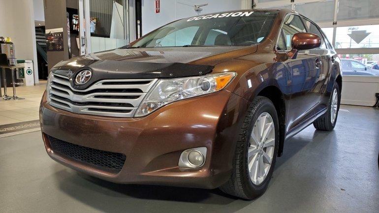 Toyota Venza DEMARREUR, BLUETOOTH, MAGS, A/C BIZONE, SIEGE ELEC 2012