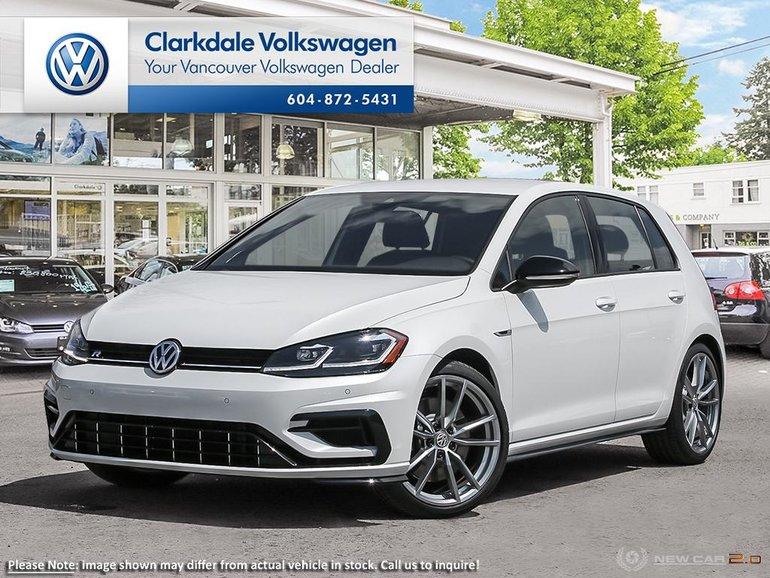 2019 Volkswagen Golf R 5-Dr 2.0T 4MOTION at DSG