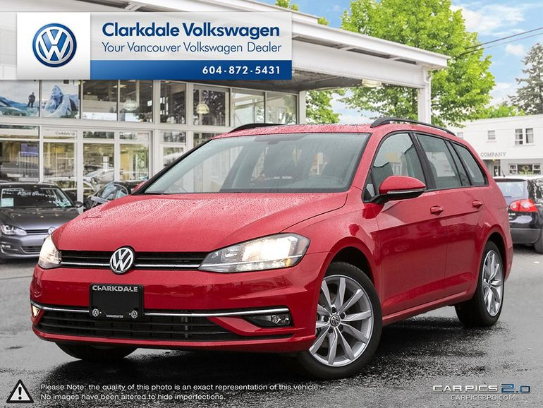 2018 Volkswagen GOLF SPORTWAGEN Comfortline