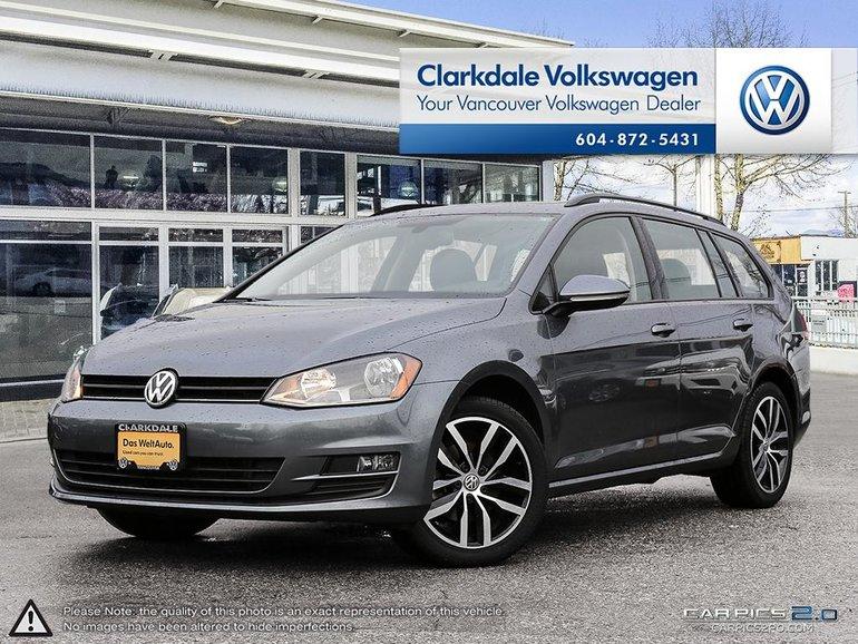 2016 Volkswagen Golf Sportwagon Comfortline