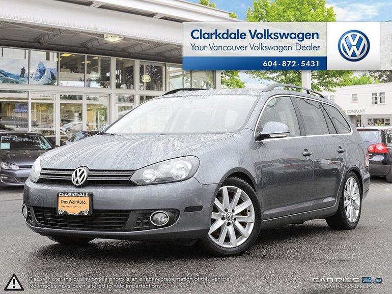 2014 Volkswagen Golf wagon Highline