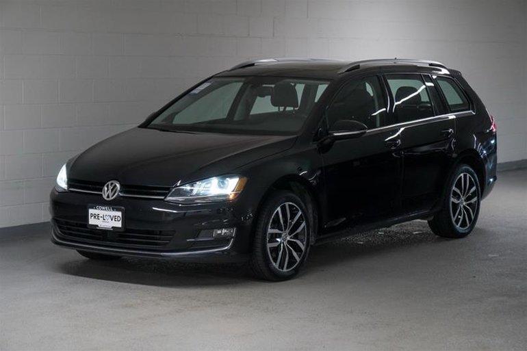 2015 Volkswagen Golf Sportwagon 1.8T Highline at w/Tip