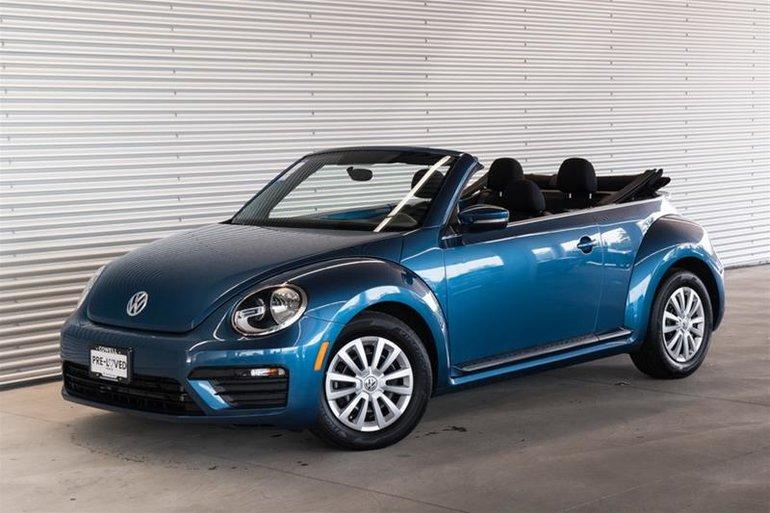2017 Volkswagen The Beetle Convertible Trendline 1.8T 6sp at w/Tip