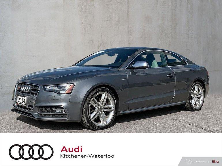2014 Audi S5 3.0 6sp Technik Cpe