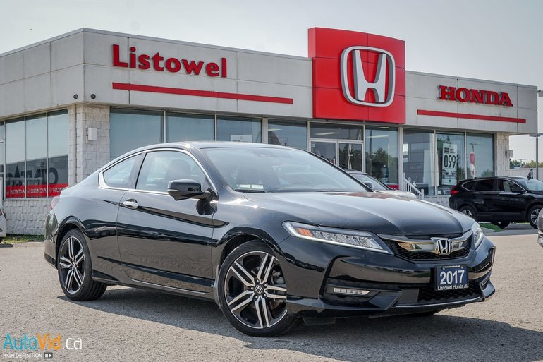 2017 Accord Coupe >> Used 2017 Honda Accord Coupe Touring Excellent Condition
