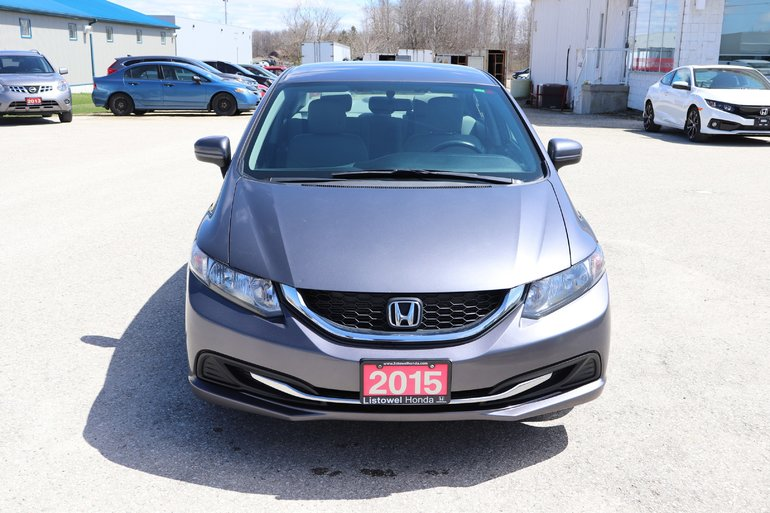 2015 Honda Civic Sedan LX- CERTIFIED, GREAT VALUE
