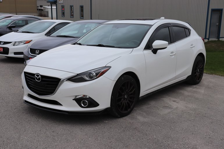 2015 Mazda Mazda3 GT- NAVIGATION-ACCIDENT FREE