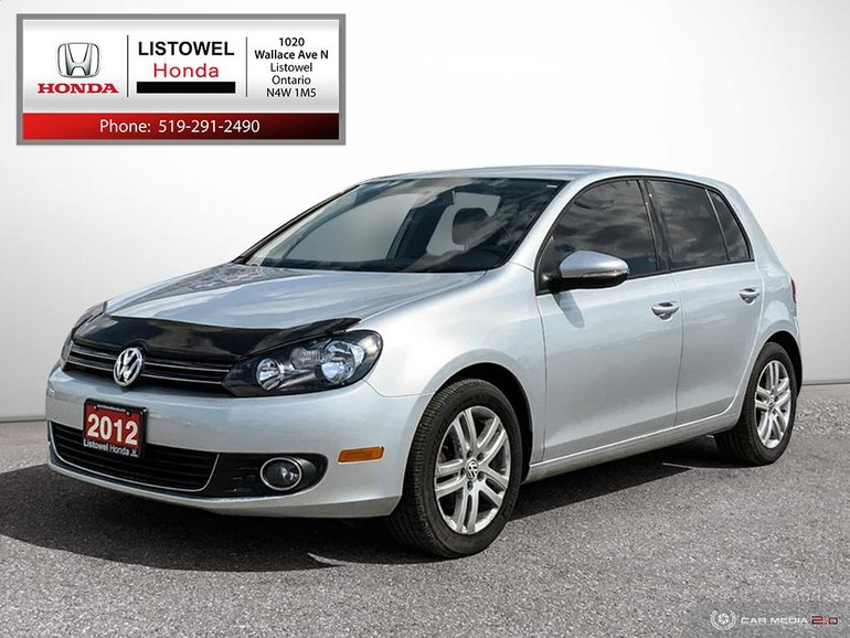 2012 Volkswagen Golf Comfortline- EXCELLENT CONDITION- DIESEL ENGINE,