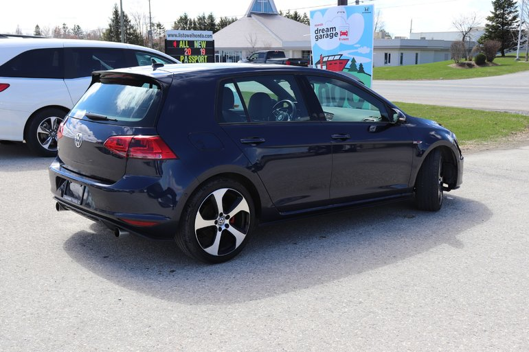 2016 Volkswagen GTI Autobahn- ABSOLUTE MINT CONDITION, ACCIDENT FREE