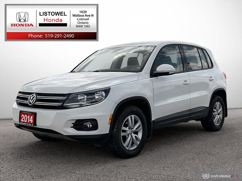 2014 Volkswagen Tiguan Trendline- AWD, ACCIDENT FREE, MINT CONDITION