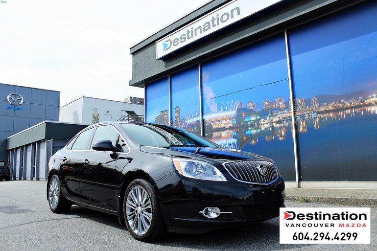 2014 Buick Verano Premium - Non Smoker, Leather With Navigation!