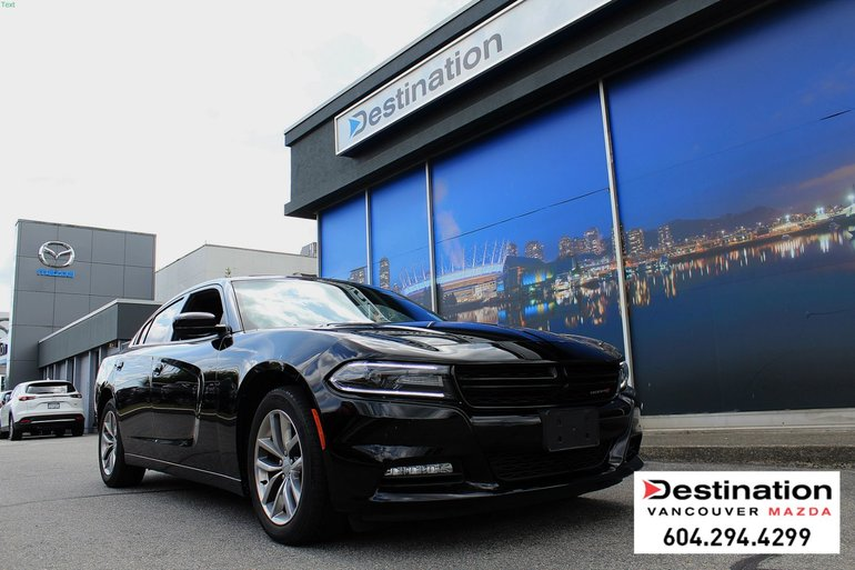 2016 Dodge Charger SXT - leather interior for supreme comfort!