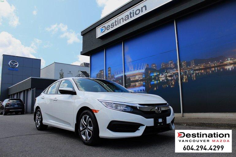 2017 Honda Civic Sedan LX - Great Condition! Non Smoker with CVT!