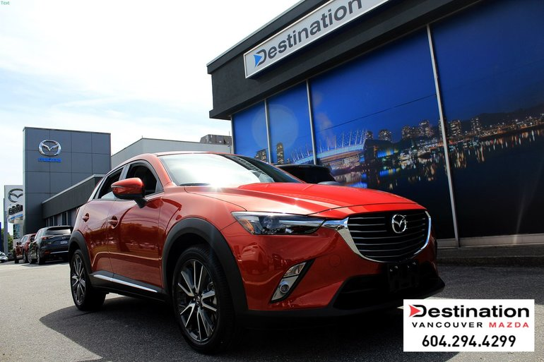 2017 Mazda CX-3 GT - Non Smoker, Local Vehicle, Only 7K kms!!!