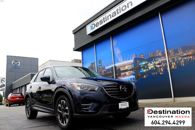 2016 Mazda CX-5 GT - with Nav, Local, Non-Smoker! Great Deal!