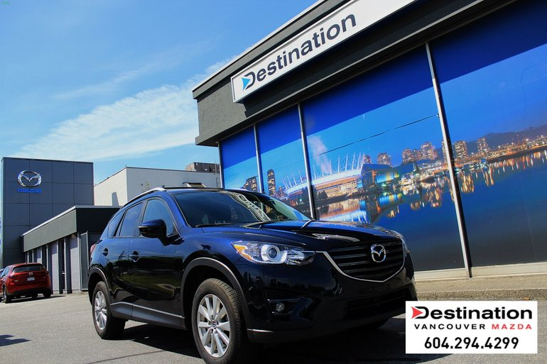 2016 Mazda CX-5 GS Only 39K kms! with Roof racks ideal for storage