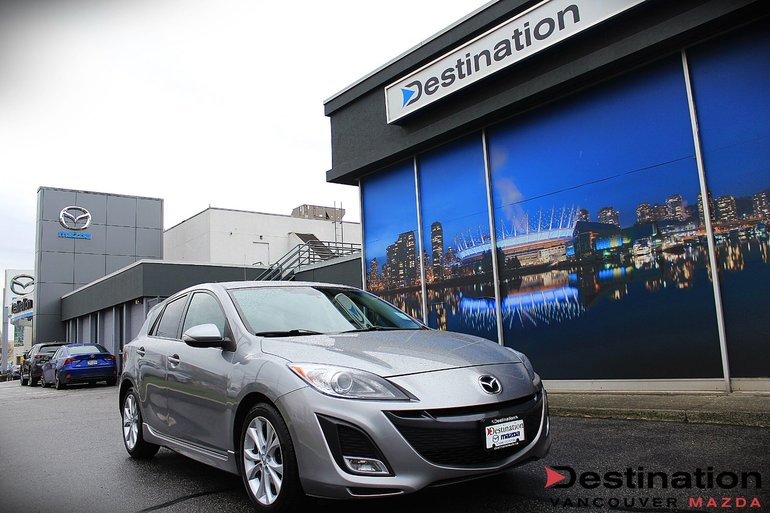 Used 2010 Mazda3 Gt At With Heated Seats For The Winter