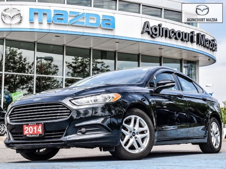2014 Ford Fusion Tires >> Agincourt Mazda Pre Owned 2014 Ford Fusion Se New Tires