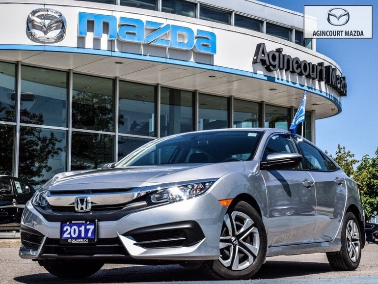 2017 Honda Civic LX   Low Km   No Accidents   Rear Cam   Htd Sts