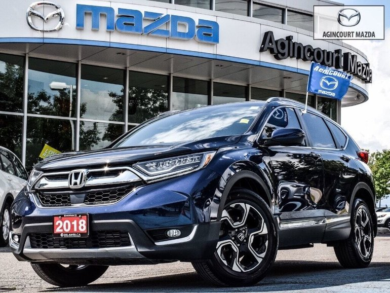 Honda CR-V Touring   Pano   Lthr   Htd Sts   Navi   Tints 2018