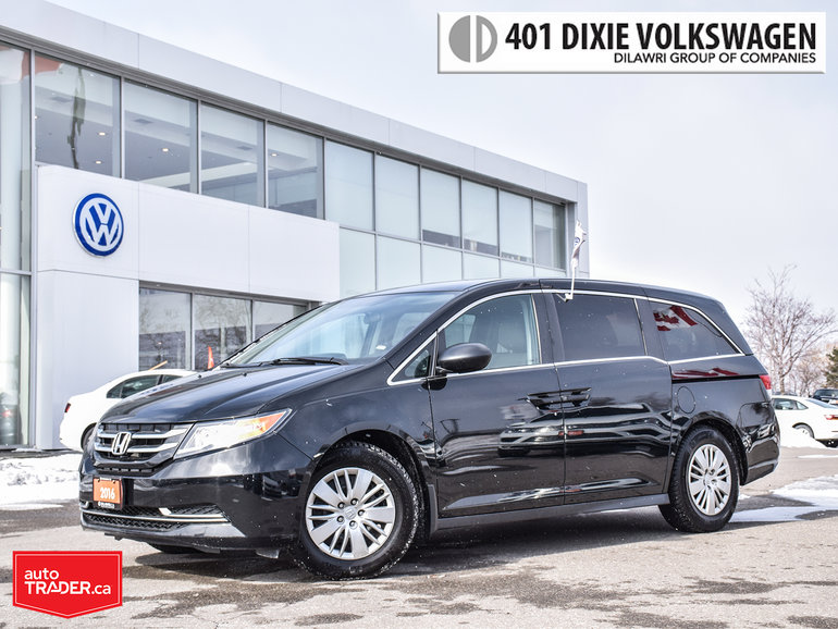 2016 Honda Odyssey LX Trade From OFF Lease. NO Accidents !! Clean