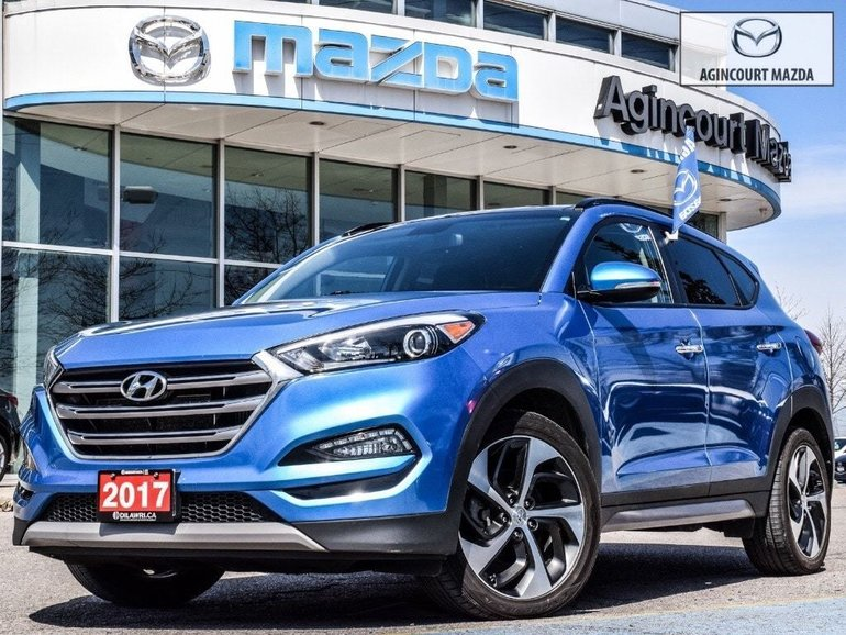 2017 Hyundai Tucson Limited 1.6T AWD   No Accidents   Sunroof   Lthr