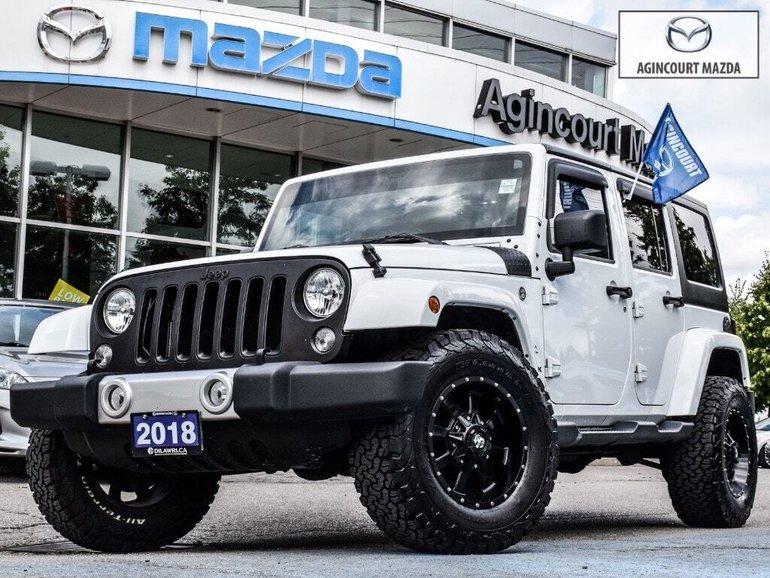 Jeep Wrangler Unlimited Sahara   Navi   Camera   Bluetooth   A/C 2018