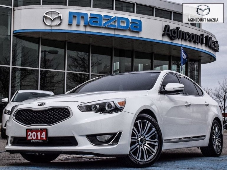 2014 Kia Cadenza New Tires   Leather   Navigation   Bluetooth