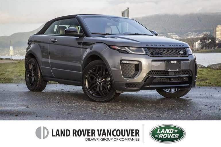 2018 Land Rover Range Rover Evoque HSE DYNAMIC Convertible