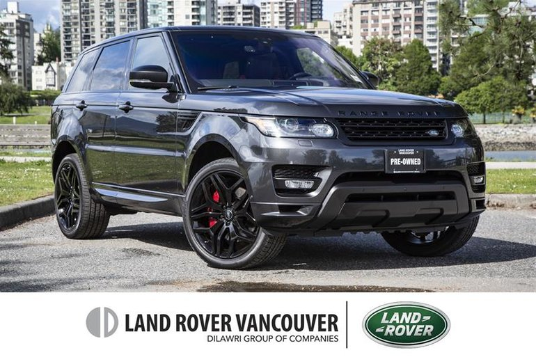 2017 Land Rover Range Rover Sport V8 Supercharged Autobiography Dynamic