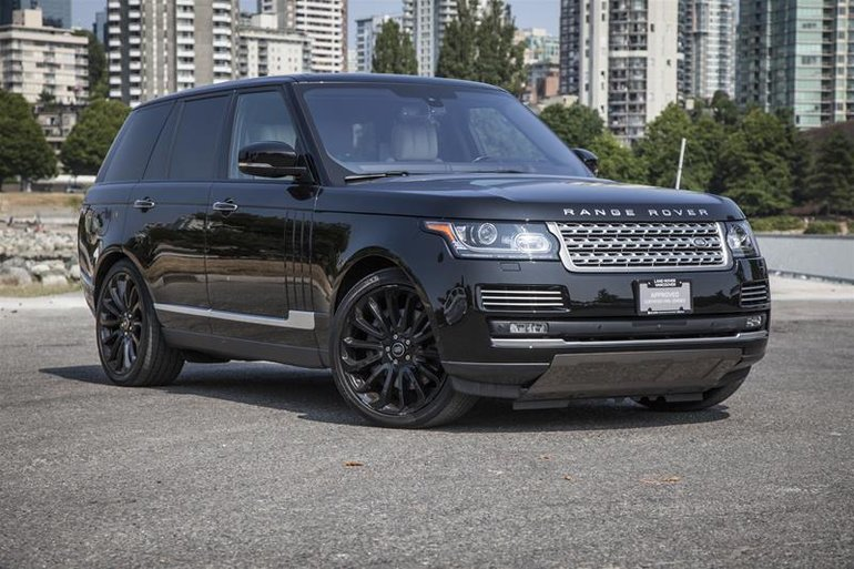 2016 Land Rover Range Rover V8 Autobiography Supercharged SWB
