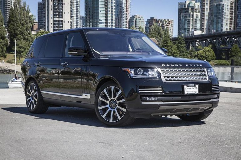 2017 Land Rover Range Rover V8 Autobiography Supercharged LWB