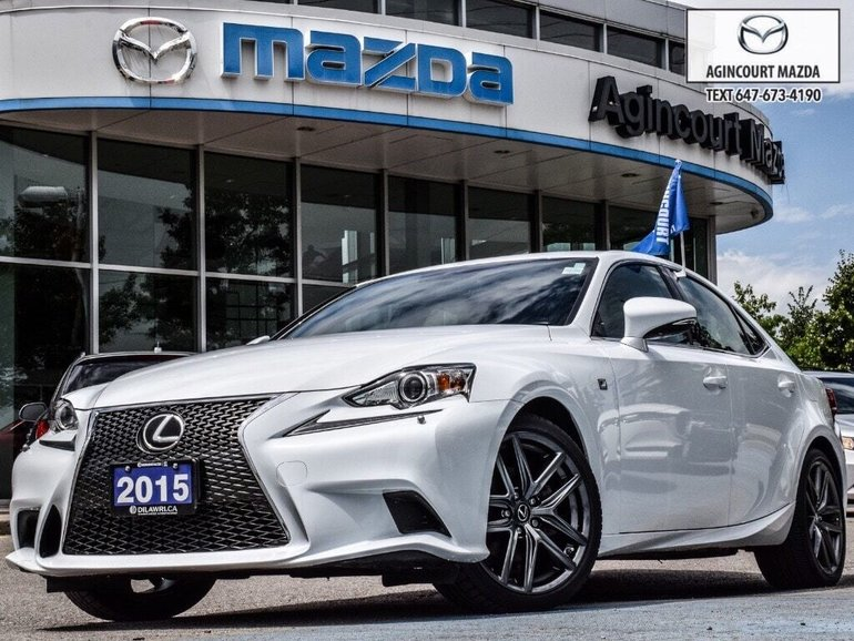 2015 Lexus IS 250 AWD   F Sport   Red Lthr   Pwr/Htd/Cool Sts
