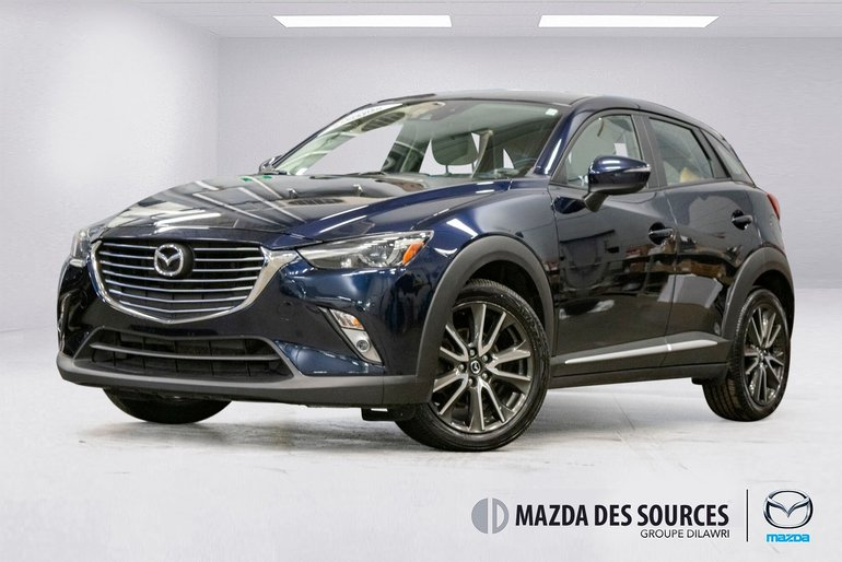 2017 Mazda CX-3 GT AWD TECH CUIR SIEGES CHAUFFANTS TOIT OUVRANT