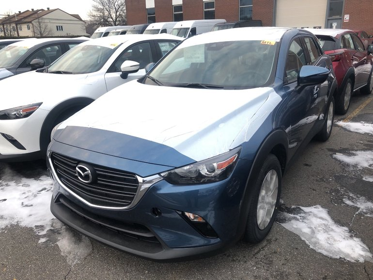 Mazda CX-3 GS * Rabais Jusqu'a $1, 000 * Apple CP / Android 2019