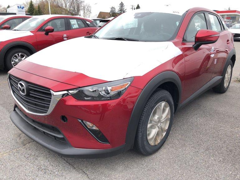 Mazda CX-3 GS * Apple CP / Android ** Rabais Jusqu'a $1, 000 2019