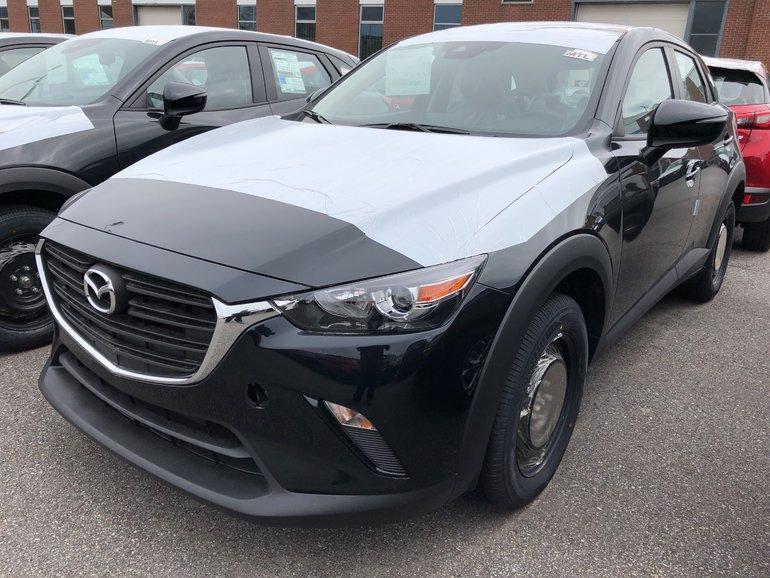 Mazda CX-3 GX ** Rabais jusqu'a $1, 000 * Apple CP / Android 2019