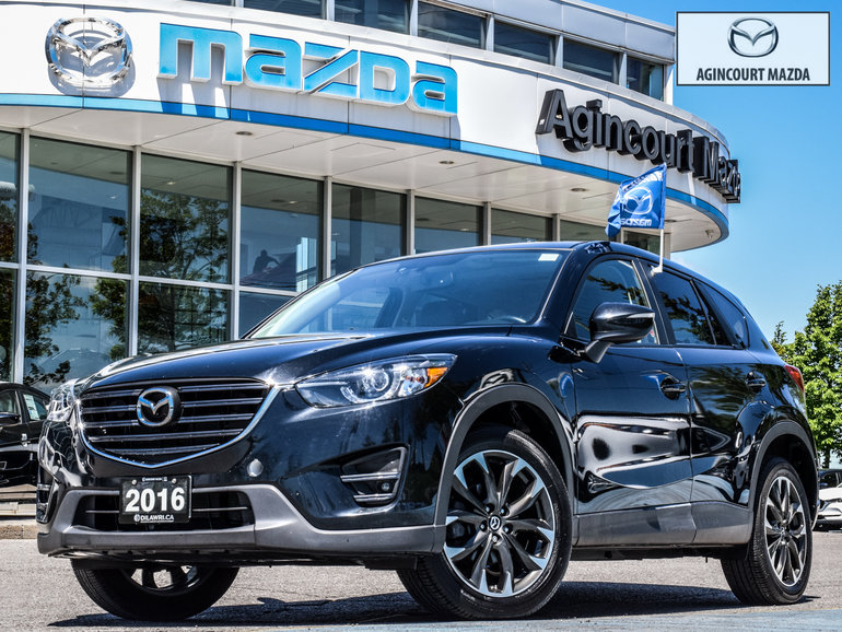 2016 Mazda CX-5 GT   Navi   Sunroof   Leather   Htd Sts   Rear Cam