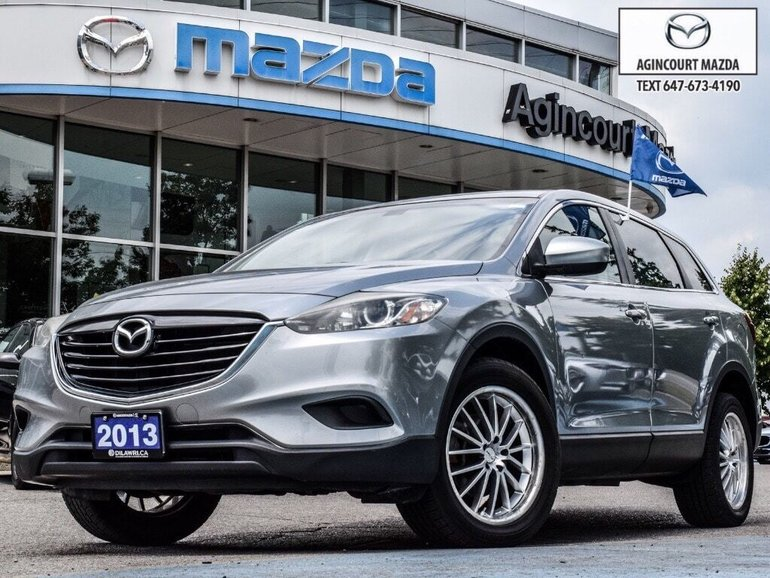 2013 Mazda CX-9 GS AWD   Rear Cam   Touchscreen   Htd Sts   Alloys